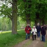Auf dem Weg zum Amor-Tempel bei Scharnhausen