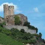 Eine von vielen Burgen am Rhein