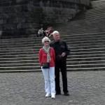 Die Organisatoren am Kaiser-Wilhelm-Denkmal