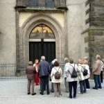 Thesentür an der Schlosskirche zu Wittenberg