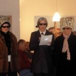 Karl Lagerfeld stellt seine neuesten Kreationen der Hutmode vor