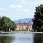 Schwetzingen Schlosspark - Blick aufs Schloss