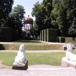 Schwetzingen Schlosspark - Blick aif Apollotempel