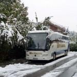 Unser Bus am vorletzten Morgen