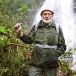 Unser Wanderführer am Kesselbach-Wasserfall