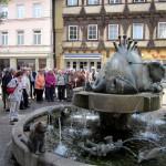 Geislingen - der Forellenbrunnen