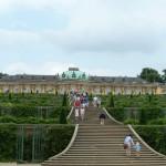 Schloss Sanssouci im Potsdamer Park