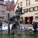 Weil der Stadt - Narrenbrunnen