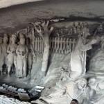 Felsrelief in St. Salvator