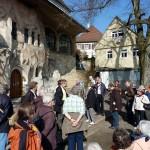 An der Wallfahrtskirche St. salvator