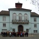 Start am Rathaus Möhringen