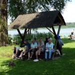 Rast am Köthener See