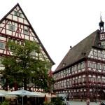 Markgröningen, Marktplatz mit Rathaus