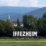 Zur Großen Woche auf der Galopprennbahn Iffezheim