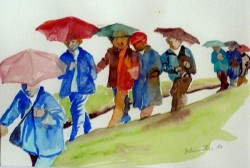 Regenwanderung