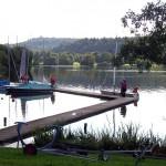 Ziel erreicht, der Max-Eyth-See