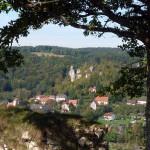 Blick auf Streitberg im Wiesenttal