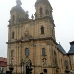 Basilika Gößweinstein im Morgennebel