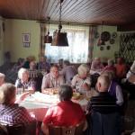 Mittagsrast in Wüstenstein