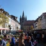 Ansbach, Marktplatz mit St. Gumbertus