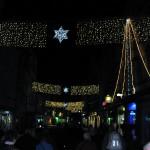 Der Heimweg führt durch das vorweihnachtlich geschmückte Esslingen