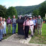 Anfang der Wanderung am Kurpark von Bad Urach [Foto: Jürgen Bader]