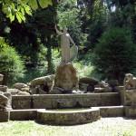 Pallas-Athene-Brunnen auf der Karlshöhe