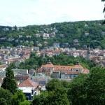 Blick von der Karlshöhe auf den Stuttgarter Süden