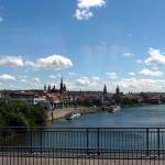 Blick von der Friedensbrücke auf die Würzburger Altstadt