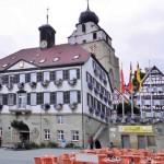 Rathaus mit Glocke