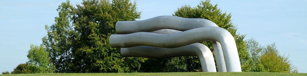 Skulptur auf dem Sipplinger Berg
