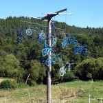 Kunst am Wegesrand: Installationen/Mobiles