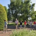 """Nordic-Walking-Prüfung"" [Foto: W. Speiser]"