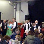 Die Folklore-Tanzgruppe der Ortsgruppe Degerloch