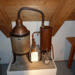 Apothekendestillationsapparat im Museum Arzneyküche