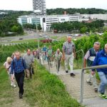 Anstieg zum Robert-Bosch-Krankenhaus [Foto: J. Bader]