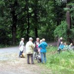 Die Langwanderer bei der Vesperpause [Foto: Speiser]